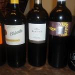 The fabulous wines tasted at La Gran Cata Chez Nous!