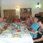 Spanish Wine Aficionados appreciating the fine wines presented at La Gran Cata de la Montaña
