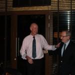 Señor Pere Bonet, President, Consejo Regulador Denominacón de Origen Cava, with presenter, Colin Harkness