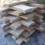 Oak planks ready for the pot!
