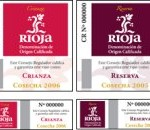 CRUIZE RIOJA BACK LABELS