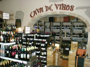 Wine Shops sell economic wines too!
