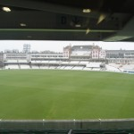 What a stadium! The Kia Oval, London.