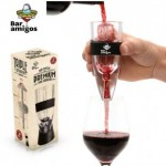 An excellent innovation - your fine wine ready to drink on opening!